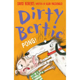 9781847152268 Dirty Bertie Pong! - Signed by David Roberts