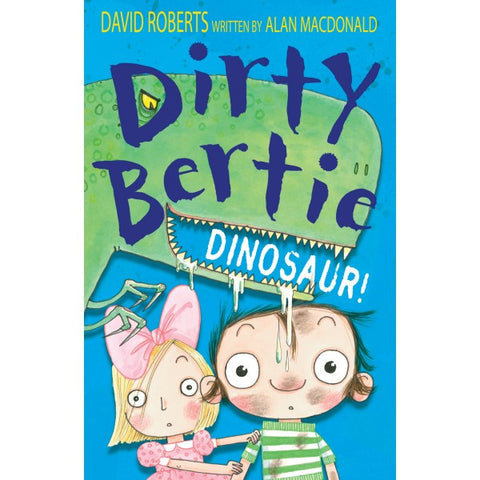 9781847153746 Dirty Bertie Dinosaur! - Signed by David Roberts