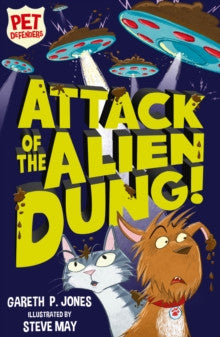 9781847157799 Attack of the Alien Dung! Signed Copy, by Gareth P. Jones, Illustrated by Steve May