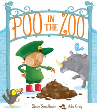 Poo in the Zoo - Signed Bookplate Edition by Steve Smallman