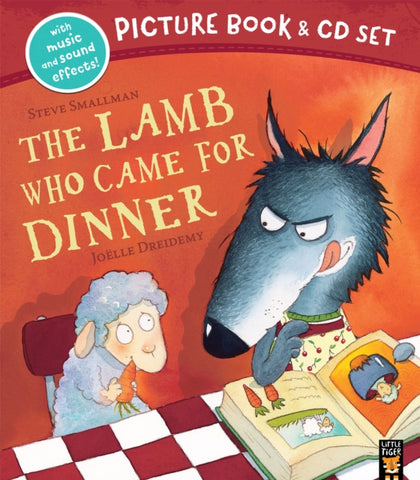 The Lamb Who Came for Dinner Book & CD-9781848698659