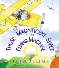 9781849396349 Those Magnificent Sheep. . . -by Peter Bentley, Signed & Illustrated by David Roberts