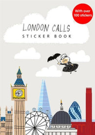 London Calls! Sticker Activity Book - Signed by Gabby Dawnay & Alex Barrow