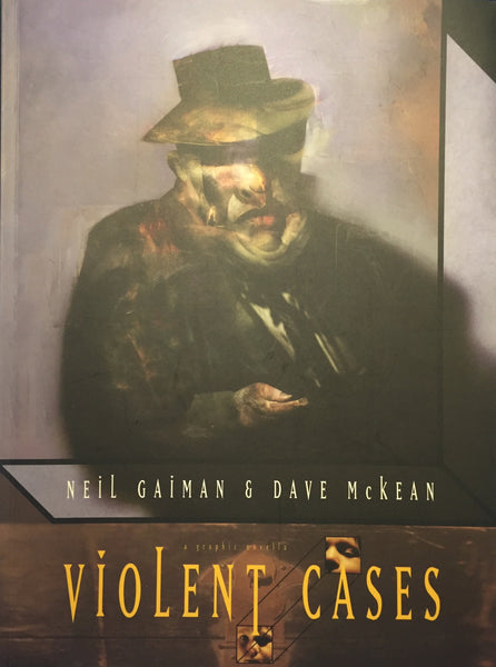 9781852869595 Violent Cases - by Neil Gaiman, Signed & Illustrated by Dave McKean