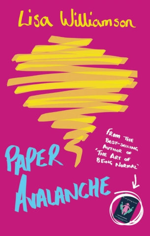 Paper Avalanche (Hardback)- Signed Copy, by Lisa Williamson