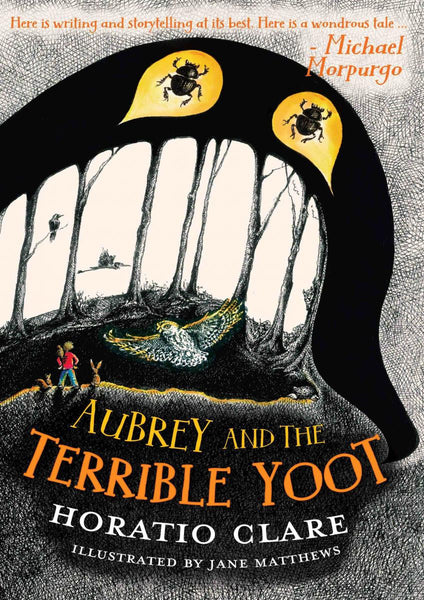 Aubrey & the Terrible Yoot by Horatio Clare 9781910080283