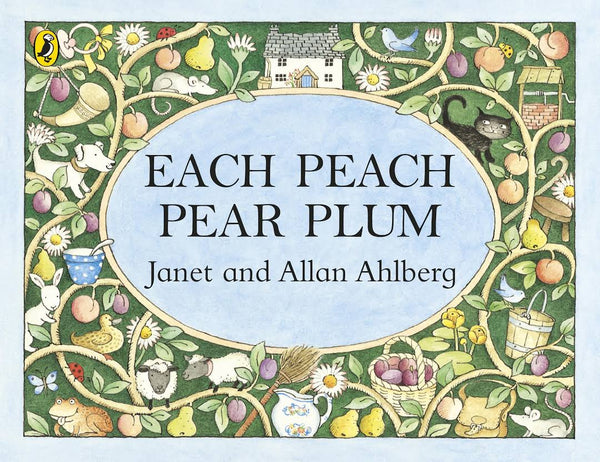 Mini Edition Pocket Puffin: Each Peach Pear Plum - By Janet and Allan Ahlberg
