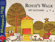 Mini Treasures: Rosie's Walk, by Pat Hutchins 9780099456735