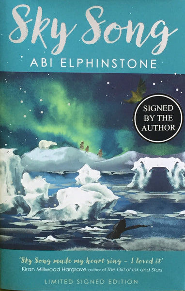Sky Song - Limited Edition Hardback, Signed & Numbered by Abi Elphinstone