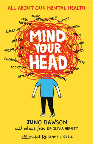 9781471405310 Mind Your Head - Signed Copy, by Juno Dawson