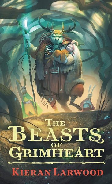 Five Realms 3: The Beasts of Grimheart - Signed Copy by Kieran Larwood