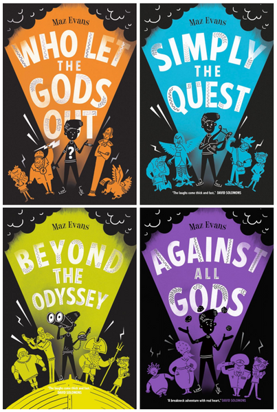 Quad of Gods! All 4 for £24 in the WLTGO Series - by Maz Evans
