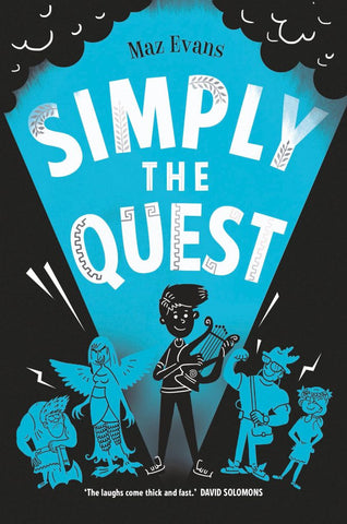 9781910655511 Simply the Quest - Signed Copy, by Maz Evans