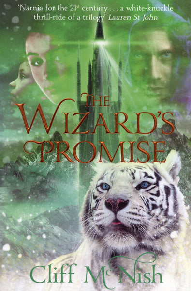 The Doomspell Book 3:  The Wizard's Promise - Signed Copy, by Cliff McNish