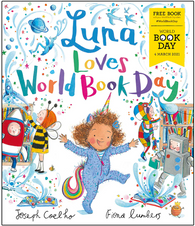 WBD 2021: Luna Loves World Book Day - by Joseph Coelho & Fiona Lumbers