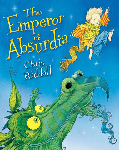9781405090285 The Emperor of Absurdia - Signed by Chris Riddell