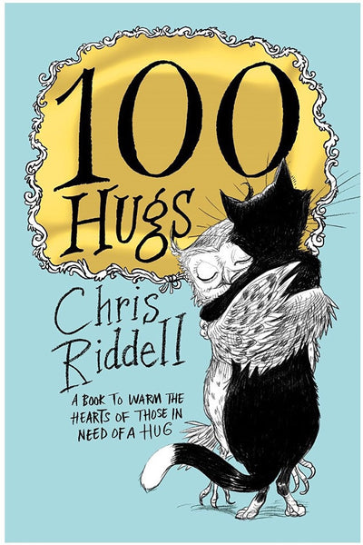 100 Hugs - signed copy, by Chris Riddell 9781509814305