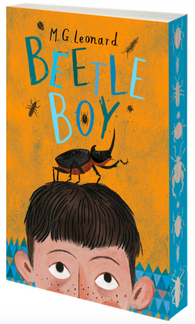 Beetle Boy by MG Leonard 9781910002704