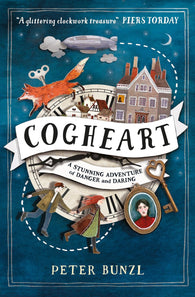 9781474915007 Cogheart - Signed Copy by Peter Bunzl