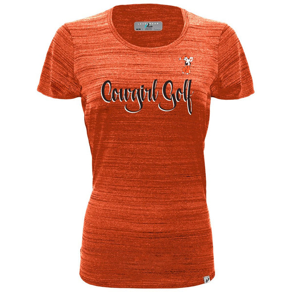 "Levelwear Ladies' ""Cowgirl Golf"" T-Shirt"
