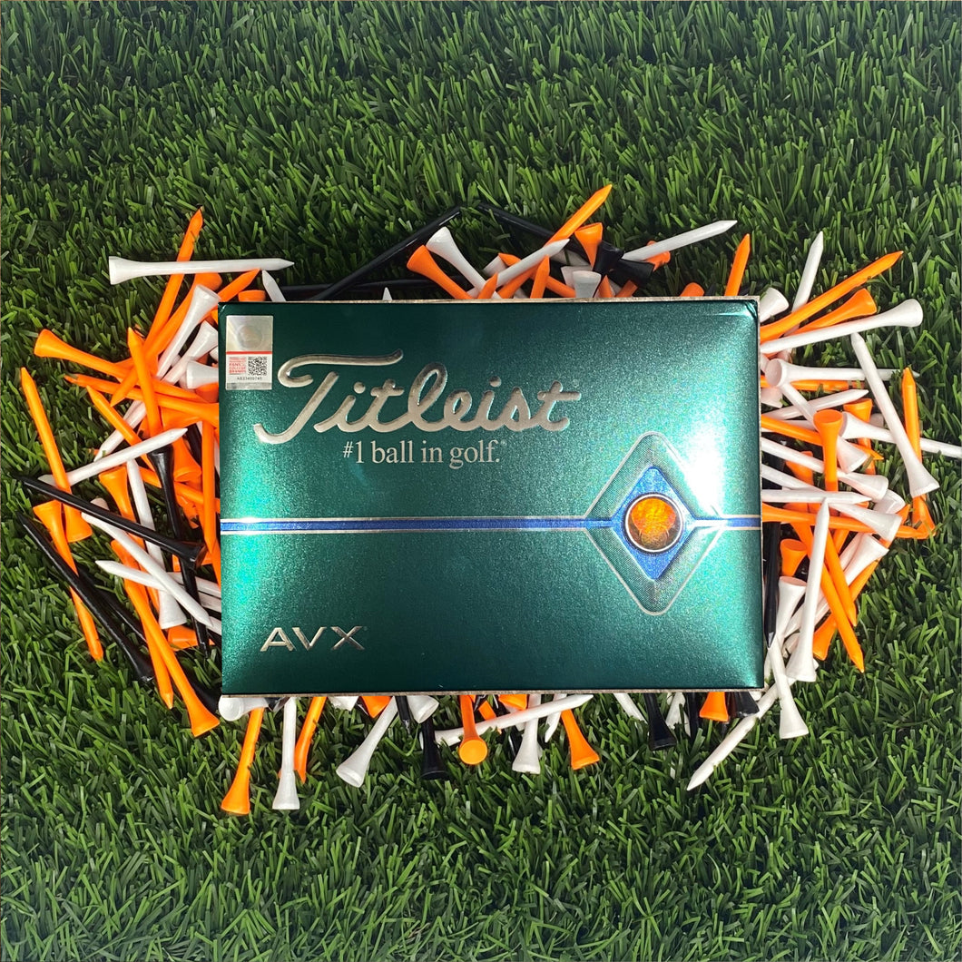 Titleist AVX Golf Balls w/Swinging Pete Logo