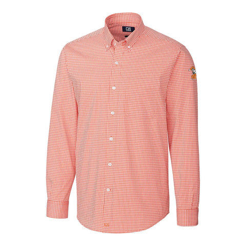 C&B Mens Anchor Gingham Button-Down