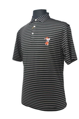 Peter Millar Striped Performance Polo