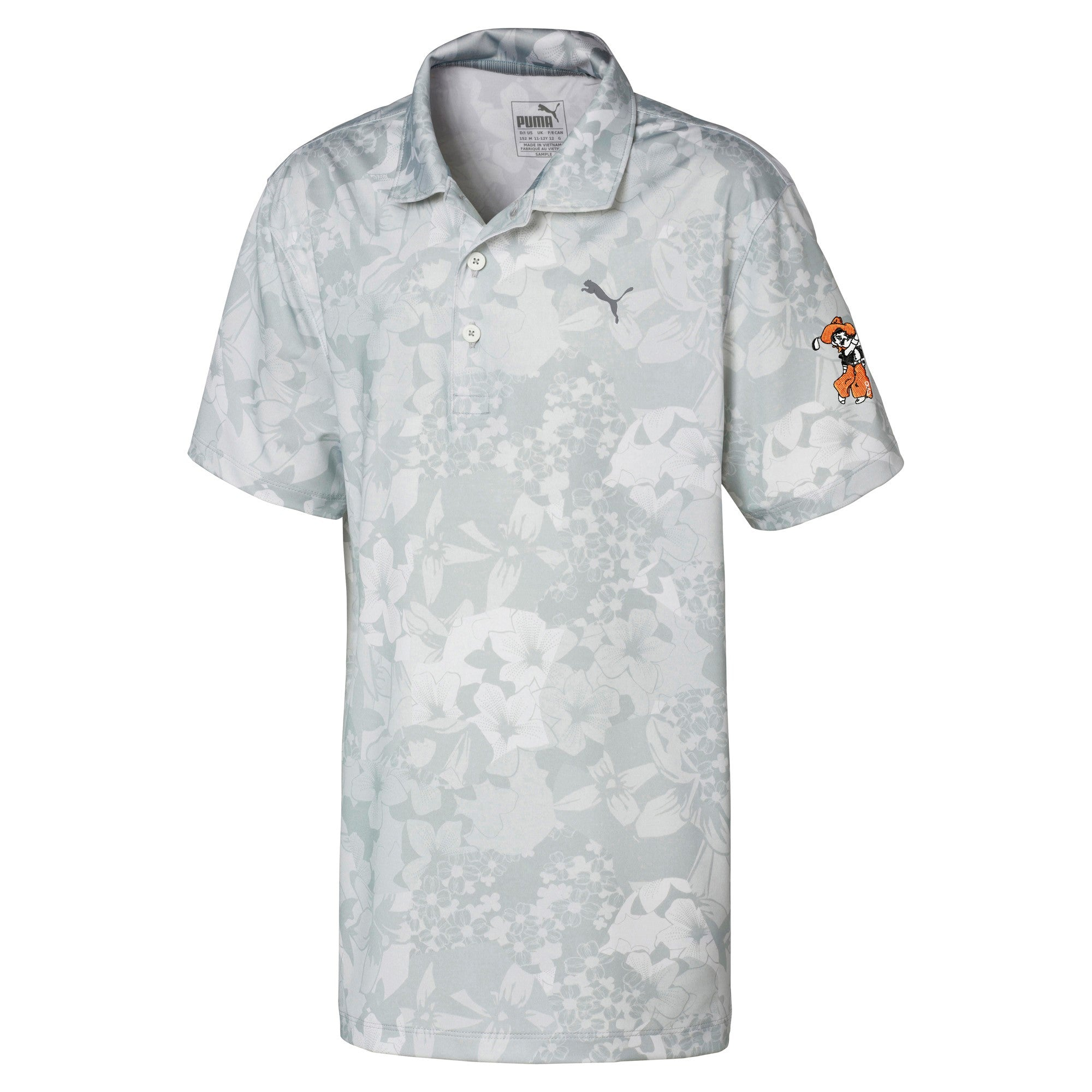 Junior Puma Floral Polo
