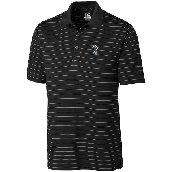 C&B Men's Franklin Stripe -Platinum Swinging Pete Logo