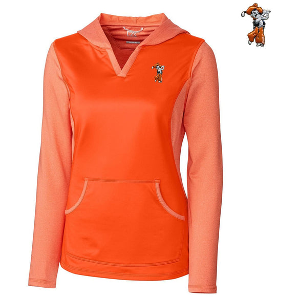 C&B Ladies Tackle Hoodie - 3D Swinging Pete Logo