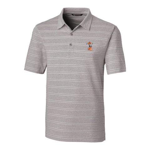 C&B Men's Forge Heather Stripe Polo