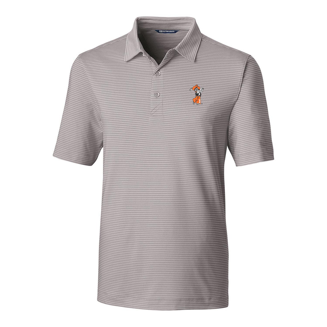 C&B Men's Forge Pencil Stripe Polo