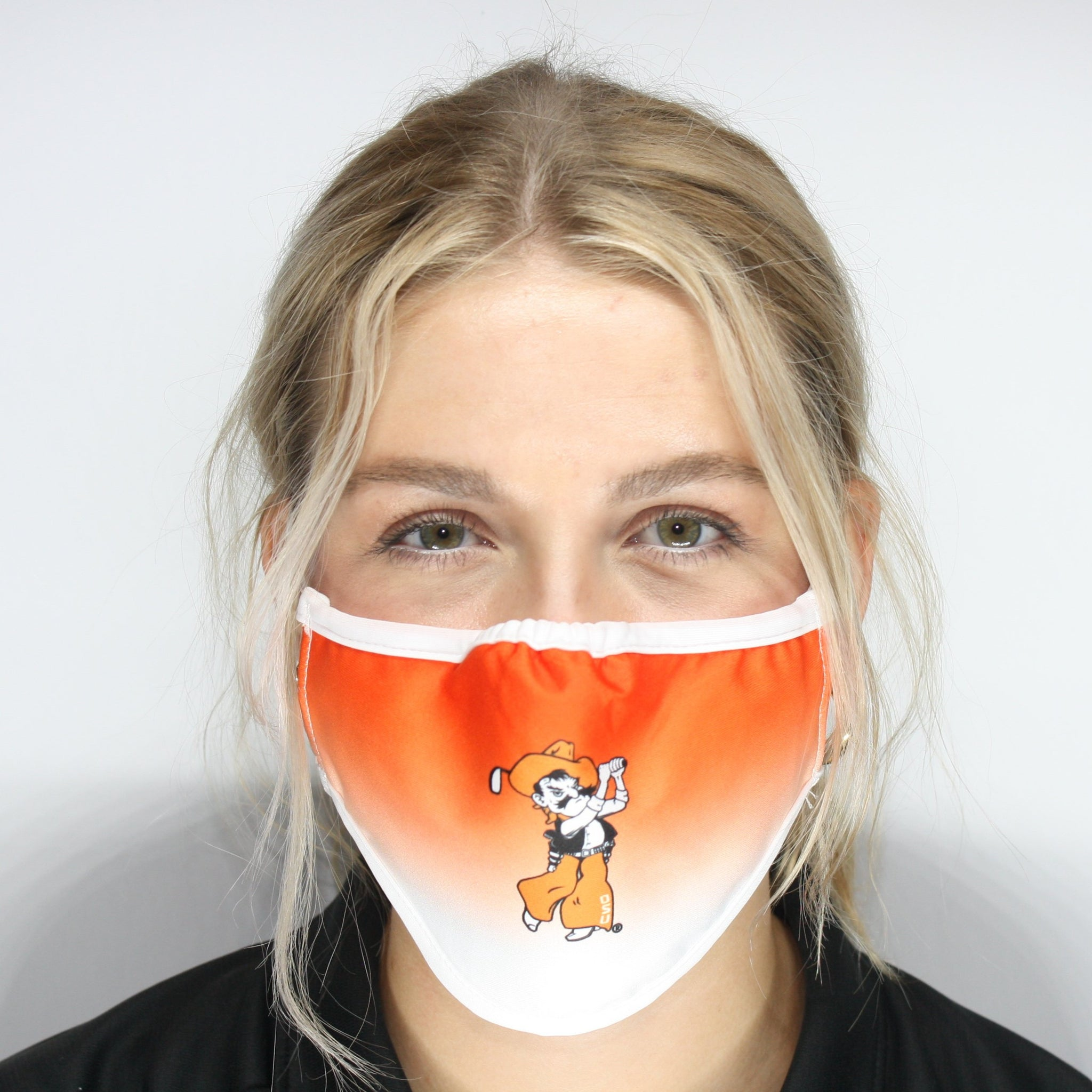 Swinging Pete Face Mask- Orange