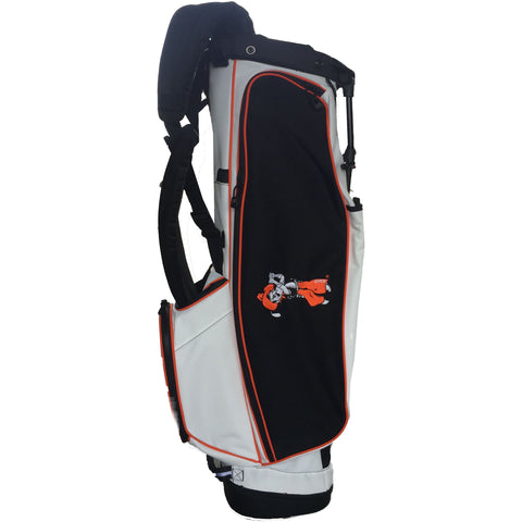 White with Black 4 Series Golf Bag