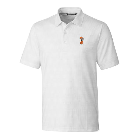 C&B Men's Pike Grid Polo