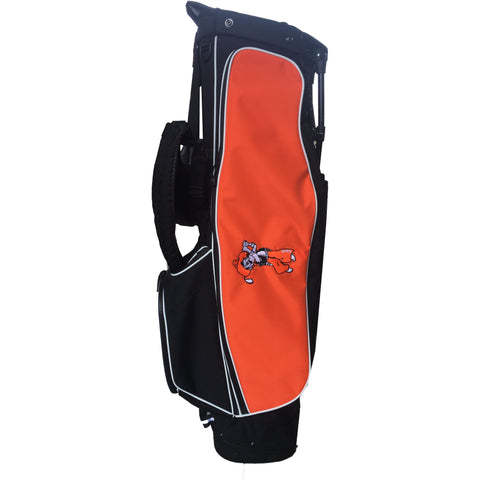 Black with Orange 4 Series Golf Bag