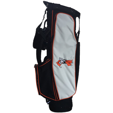 Black with White 4 Series Golf Bag