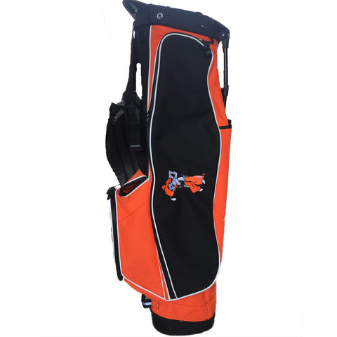 Orange With Black 4 Series Golf Bag