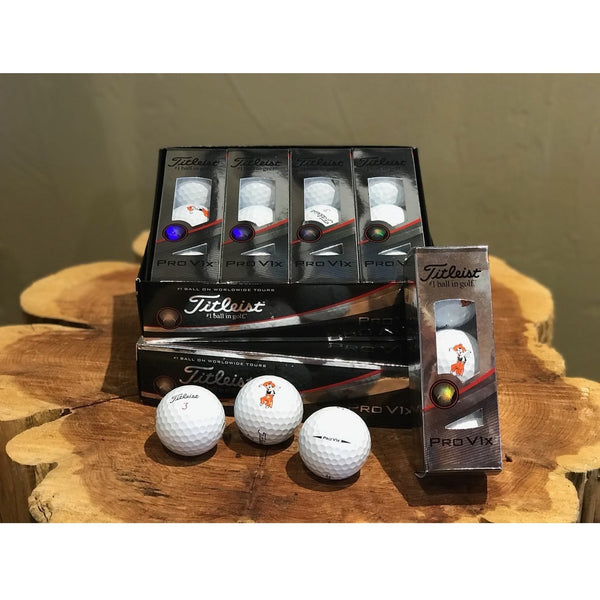Titleist ProV1X Golf Balls w/Swinging Pete Logo '18