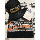2018 NCAA TShirt/Hat/Yardage book combo