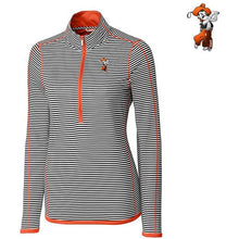 Load image into Gallery viewer, C&B Ladies' 3/4 Zip Trevor Stripe Pullover