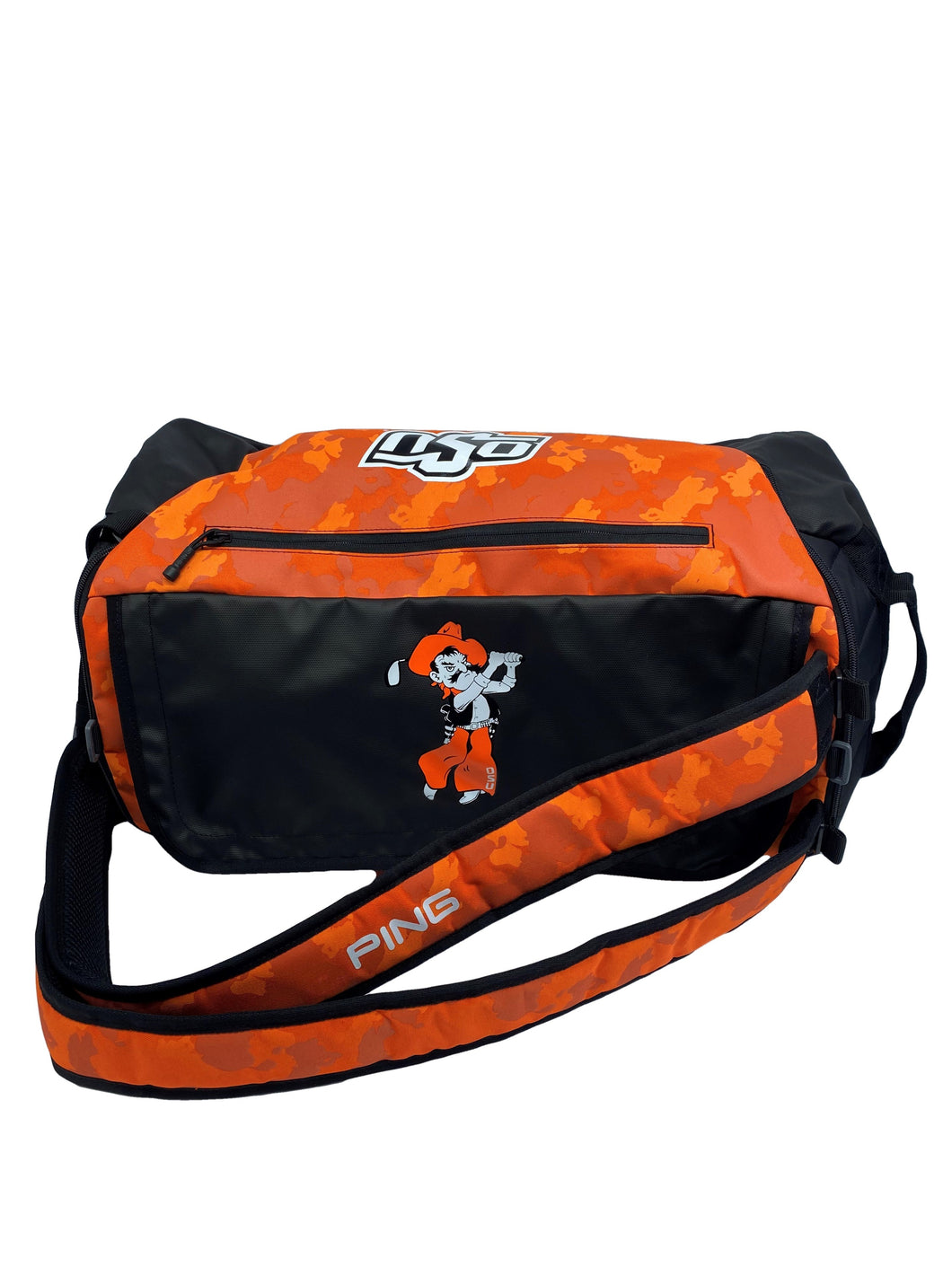 Ping Duffle Bag - Orange Camo Pete