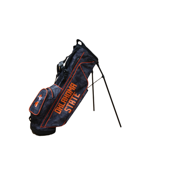 Ping Hoofer Lite Black Camo with Orange Oklahoma State Bag