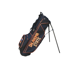 Ping Hoofer Lite Black Oklahoma State Bag