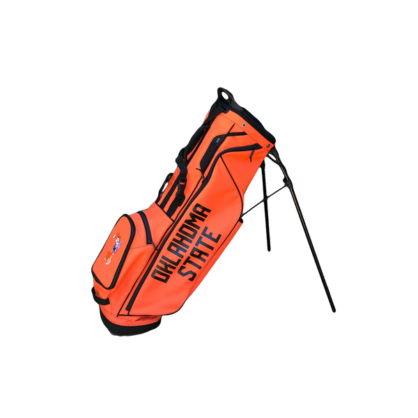 Ping Hoofer Lite Orange Oklahoma State Bag