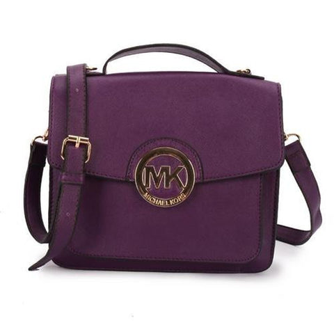 10099ea27b Michael Kors Big Logo Medium Purple Crossbody Bags – Michael Kors ...