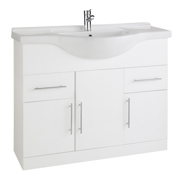 Arenso 1050mm Vanity Unit & Ceramic Basin