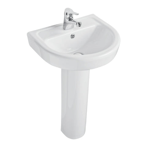 Forli 460mm Basin & Pedestal