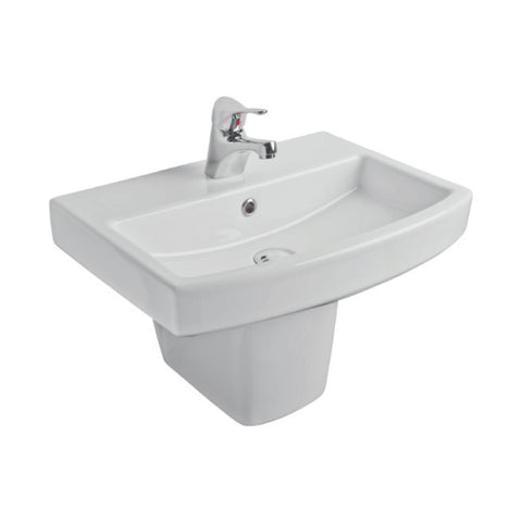 Ravenna 550mm Basin & Semi Pedestal