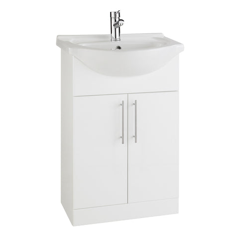 Arenso 550mm Vanity Unit & Ceramic Basin